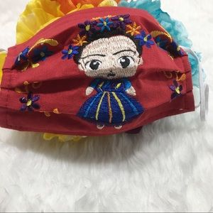 Accessories - ❤️NEW Frida Kahlo Embroidered Face Mask!❤️